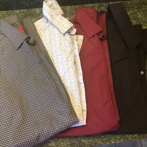 4 Dress Shirts; new with tags 14-14-1/2 neck
